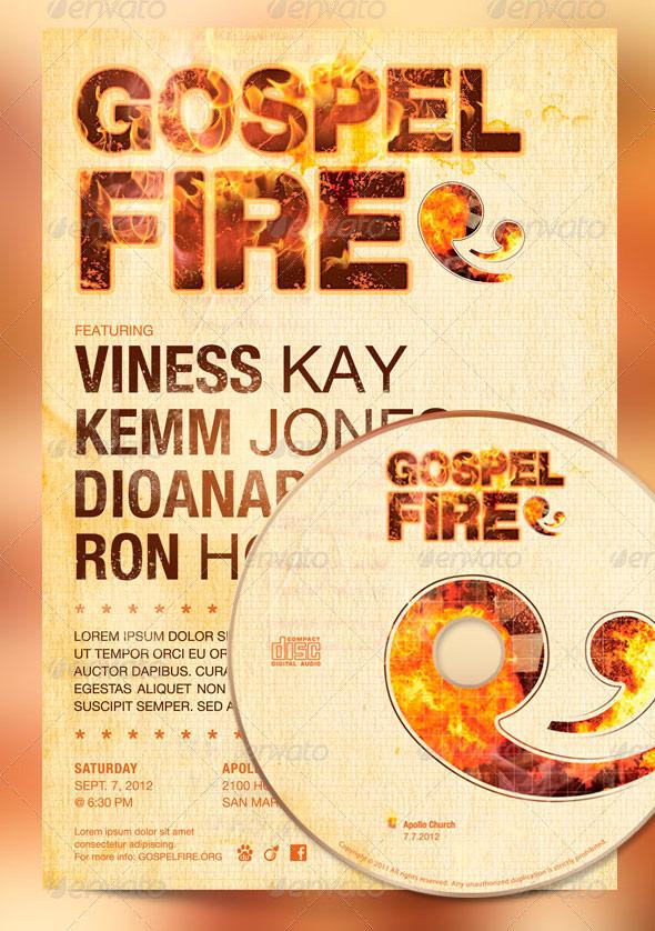 Gospel Fire Church Flyer