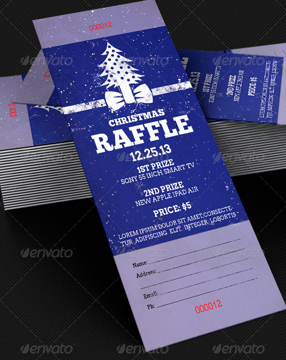 Christmas Party Ticket Template invitation 61 free psd vector eps – Party Tickets Templates