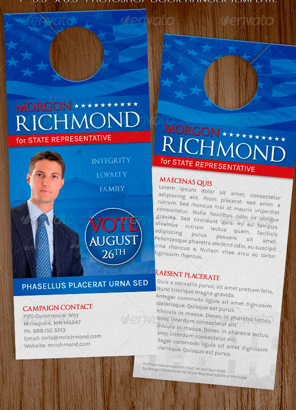 Political And Voting Flyer Templates Graphicstank