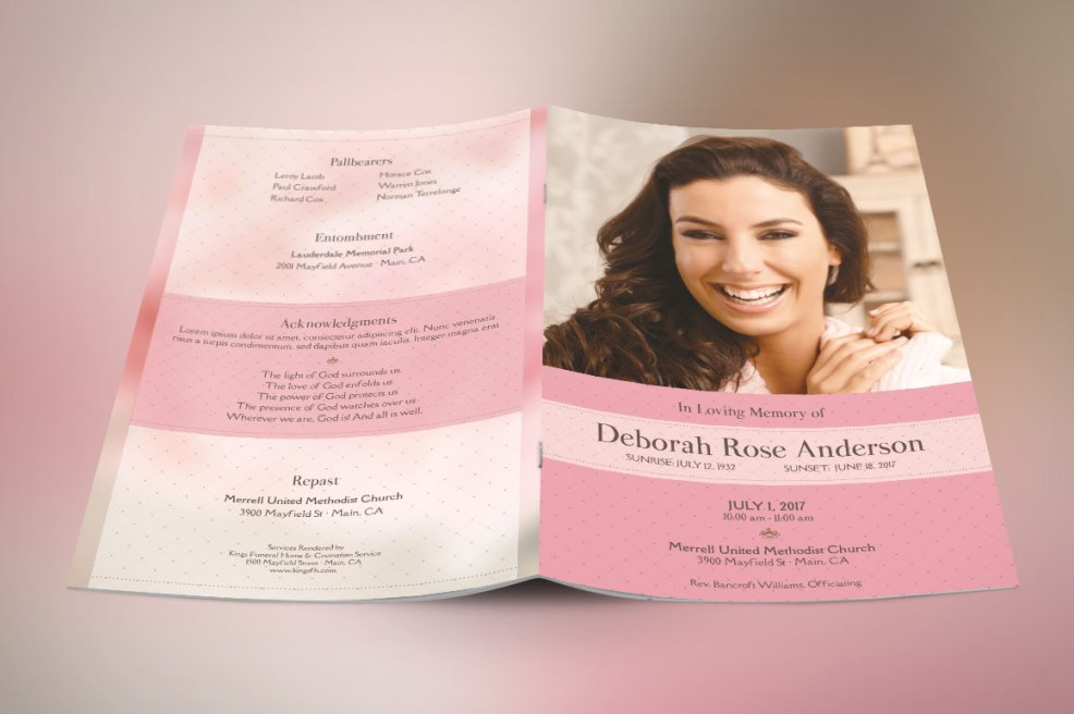 40 funeral program template for family members friend and loved glamour funeral program large template pronofoot35fo Images