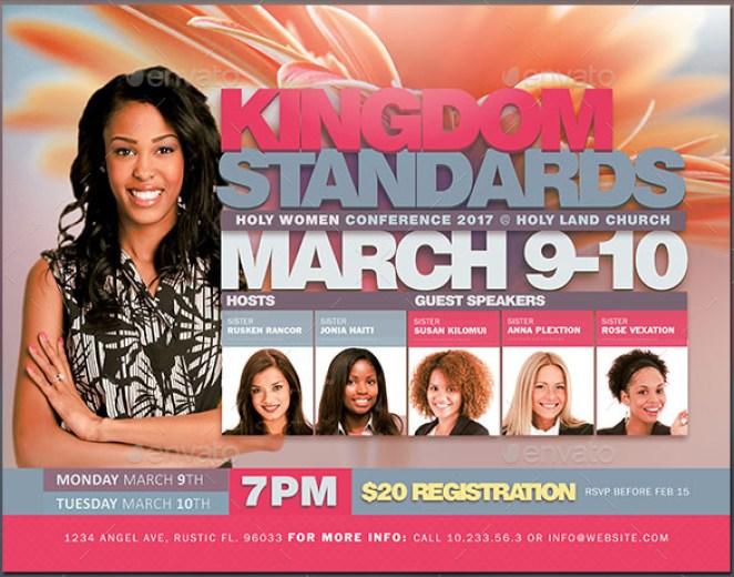 Kingdom Standards Flyer Template
