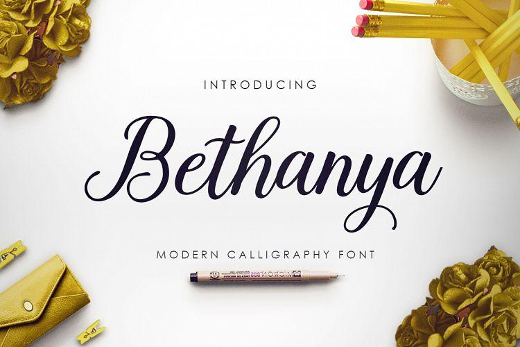 Bethanya Script