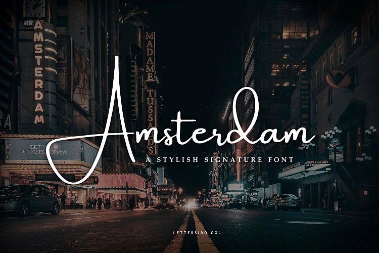 Amsterdam Stylish Signature