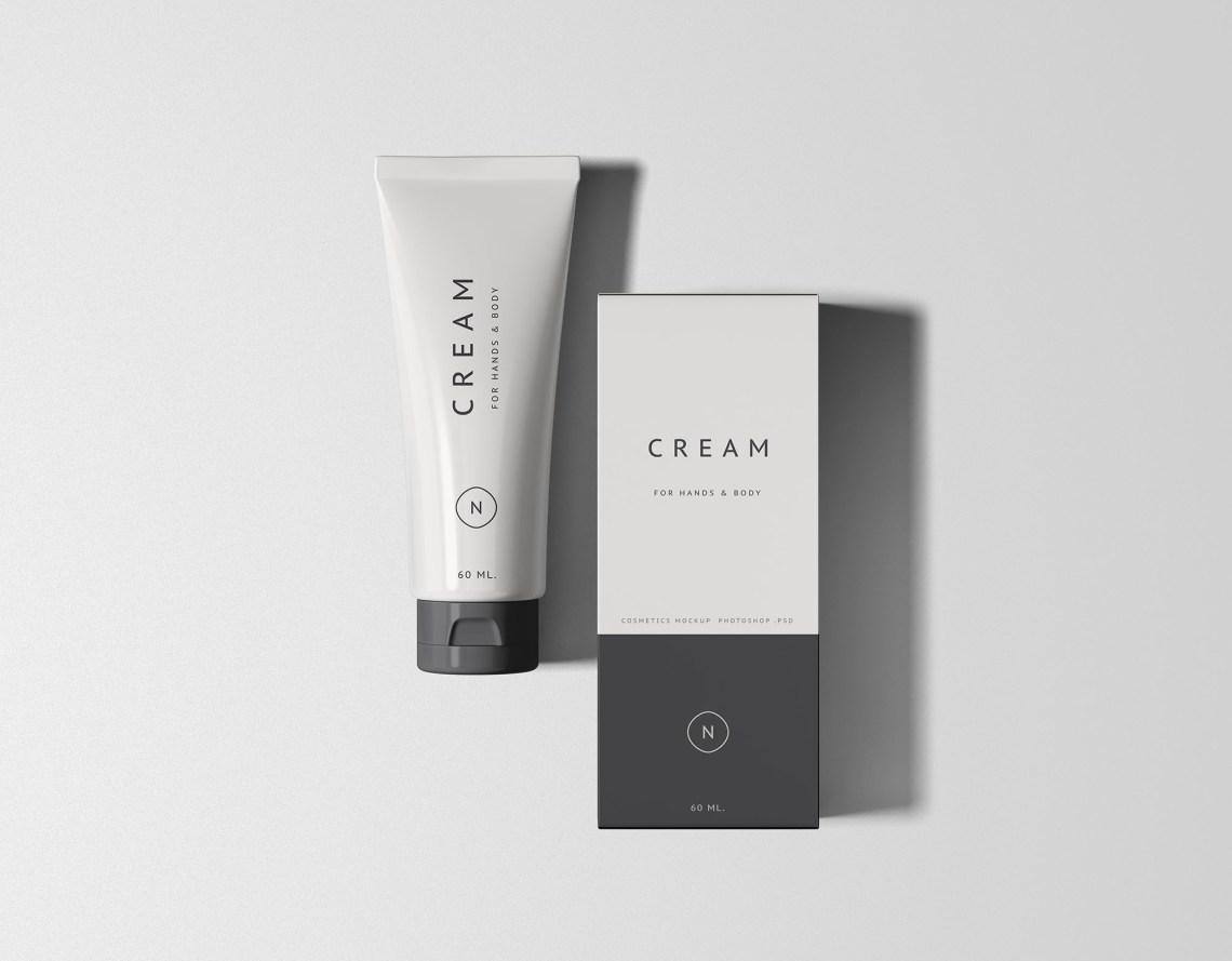 Download Cosmetics Packaging Set PSD Mockup Download for Free ...