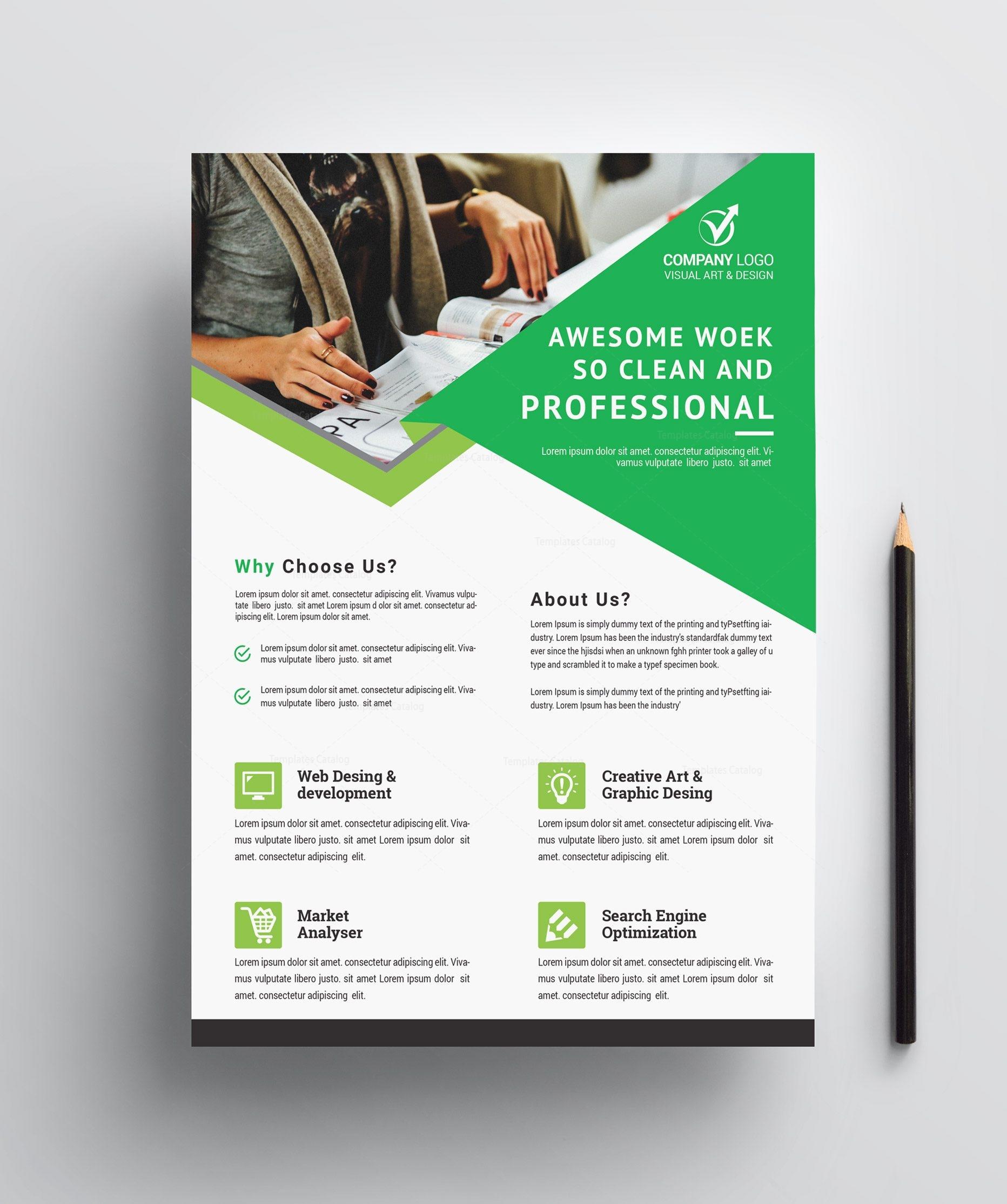 Professional Business Flyer Design Graphic Prime Graphic Design Templates