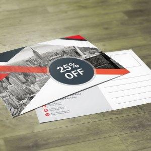 Business PSD Postcard Design Templates