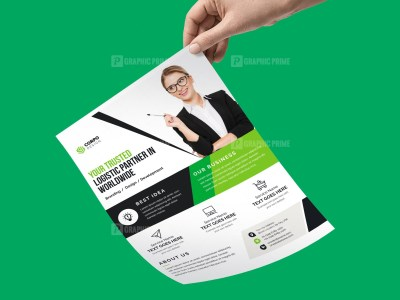 Freelance Flyer Template