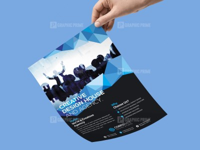Modern Flyer Template Design