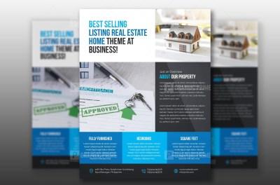 PSD Real Estate Flyer