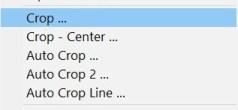 Crop actions
