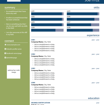 Résumé/CV Template