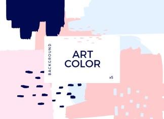 Art color surface background