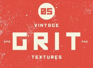 Vintage grit vector texture