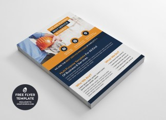 corporate multipurpose flyer template #6