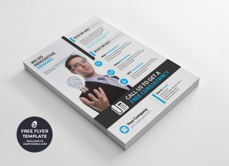 corporate multipurpose flyer template #7