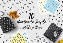 10 Handmade Simple Scribble Pattern