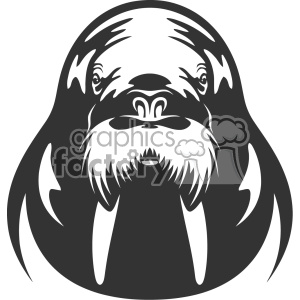 Royalty Free Walrus Vector Art Clipart Images And Clip Art