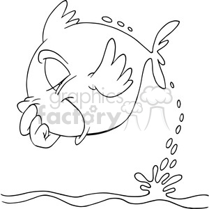 Cartoon Fisherman In Black And White Clipart Commercial Use Gif Jpg Png Eps Svg Ai Pdf Clipart 388323 Graphics Factory