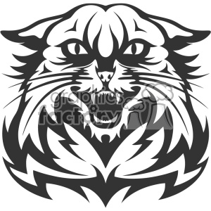 Wildcat Head Vector Art Cartoon Clipart Images And Clip