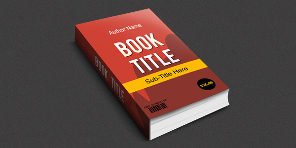 Smart objects 3D book mockup (PSD) - GraphicsFuel