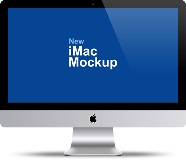 Apple Imac 27 Mockup Psd Template Graphicsfuel