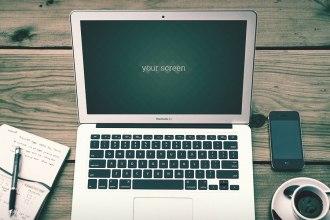 Free Macbook Air Photo Mockups