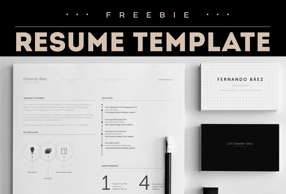 template in adobe ai format fonts and icon set
