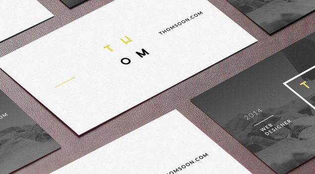 7 Free Business Card Mockups