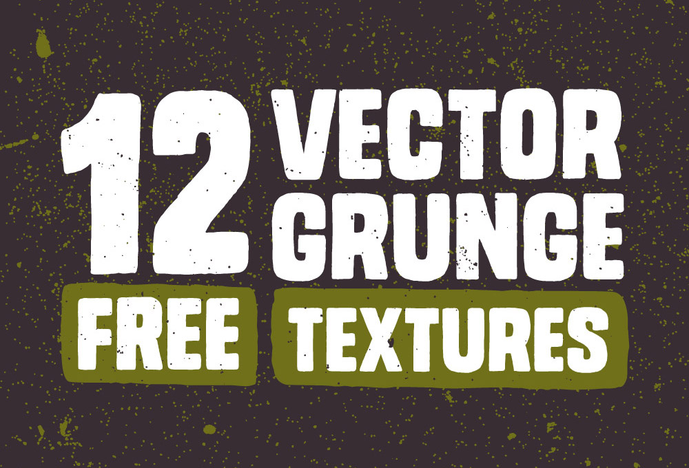 12-vector-grunge-free-textures