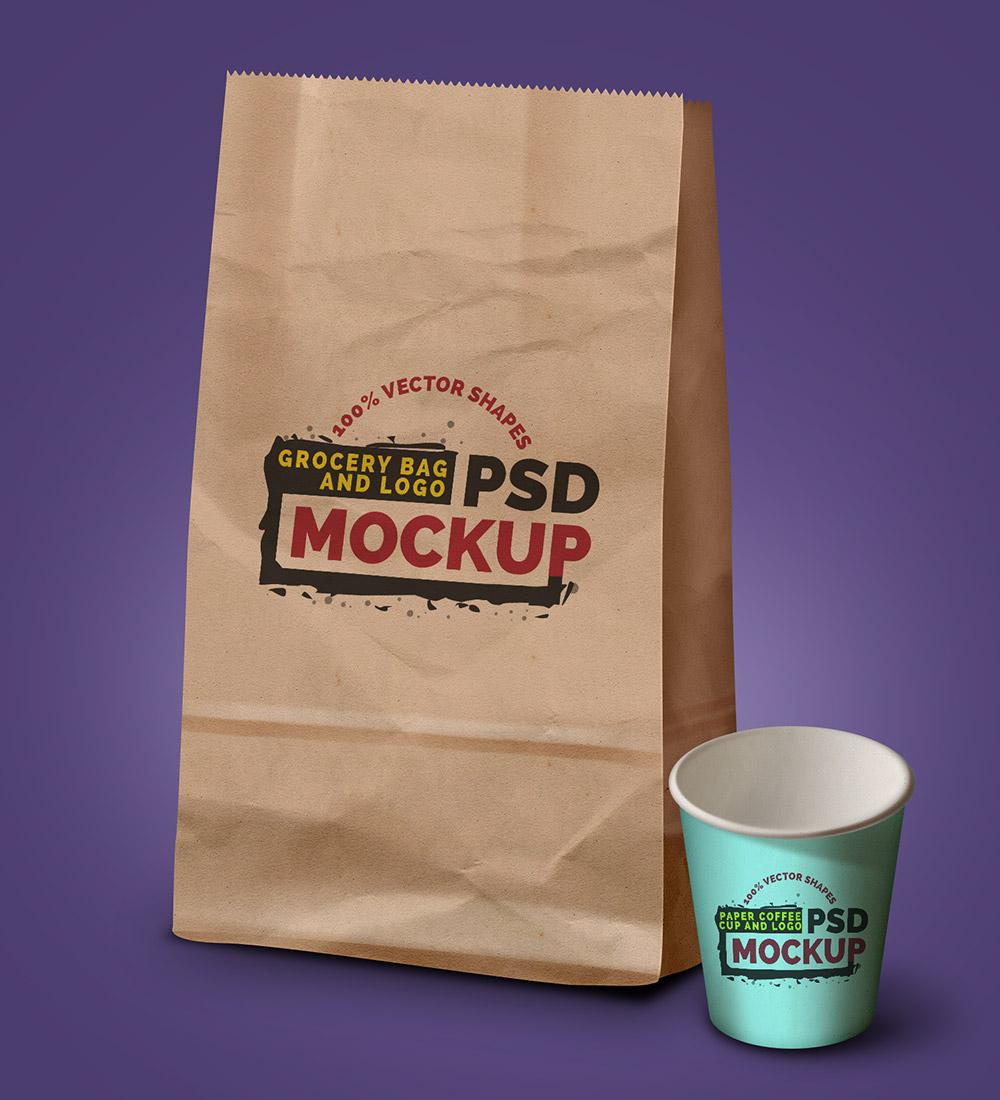 grocery-bag-coffee-cup-mockups