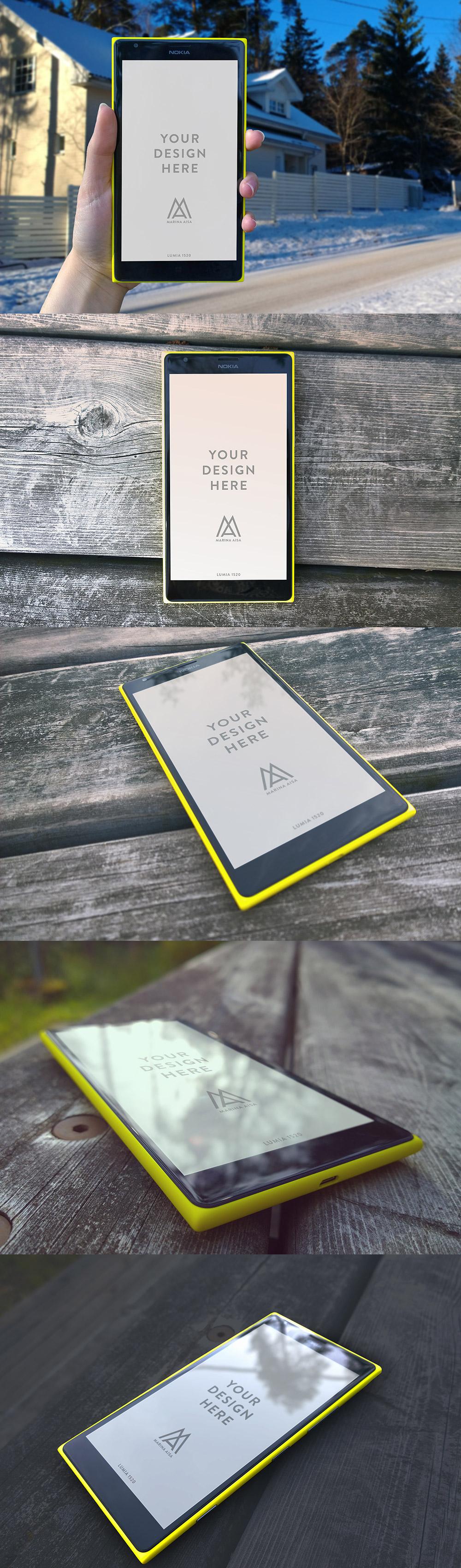 Nokia-Lumia-Mockups