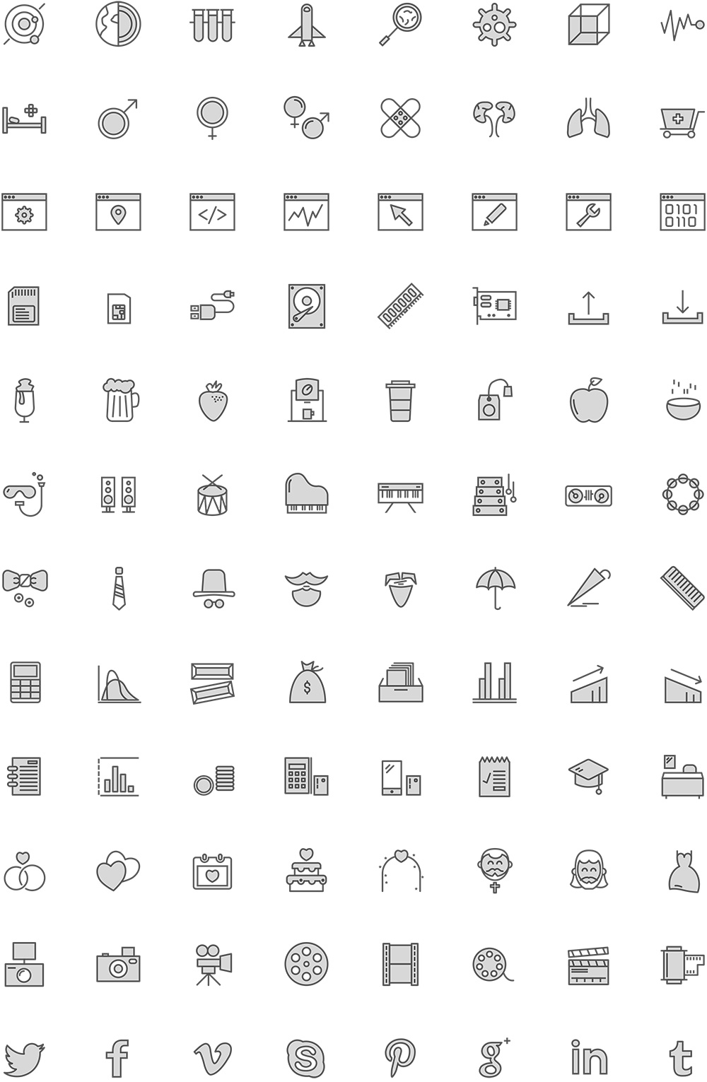 free-filled-icons