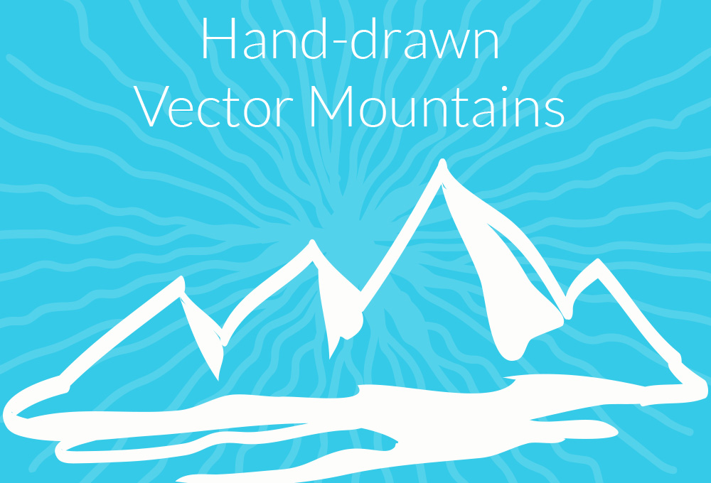 hand-drawn-vector-mountains