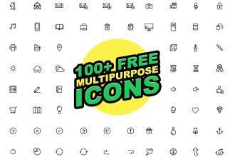 100+ Free Multipurpose Vector Icons