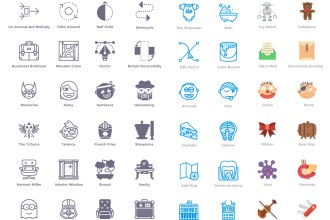 100 Free Icons in 4 Styles
