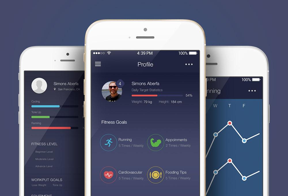 free-fitness-app-ui-kit