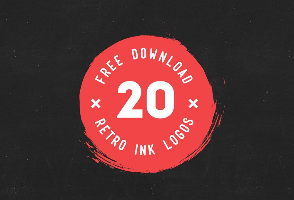 20-free-ink-logo-mockups