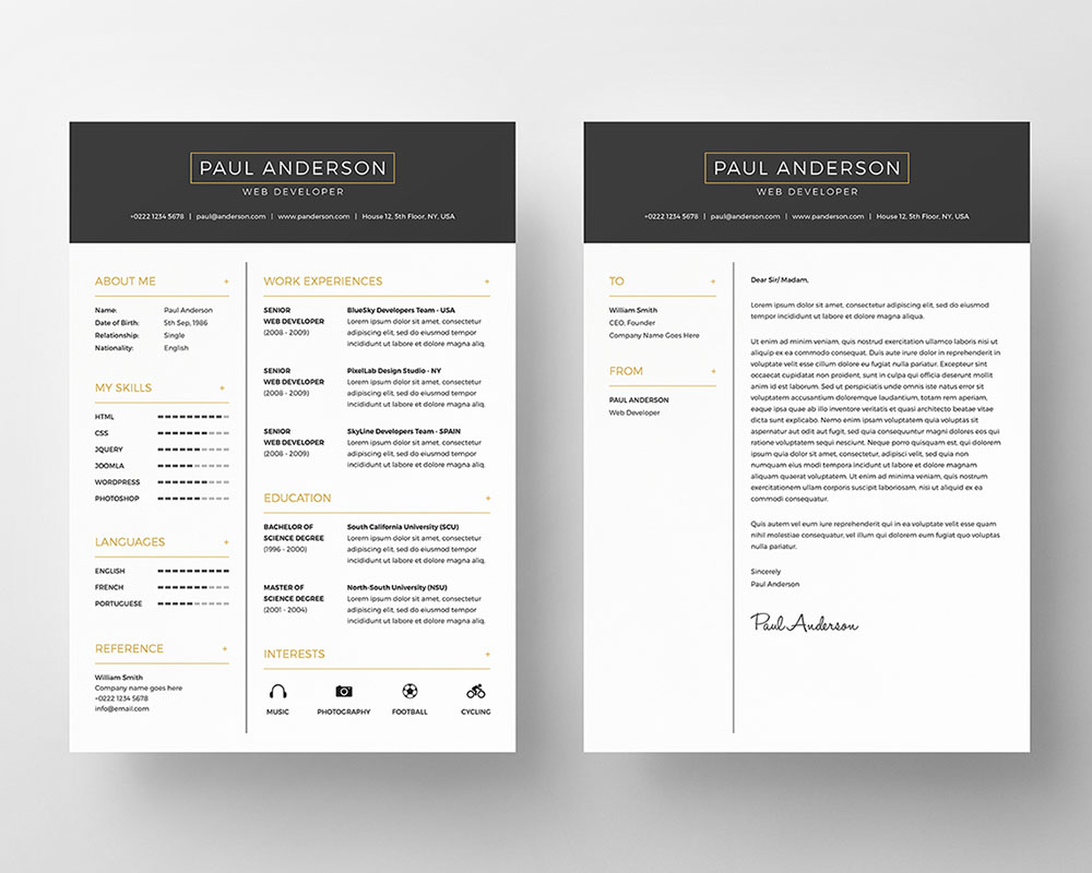 free-resume-template2
