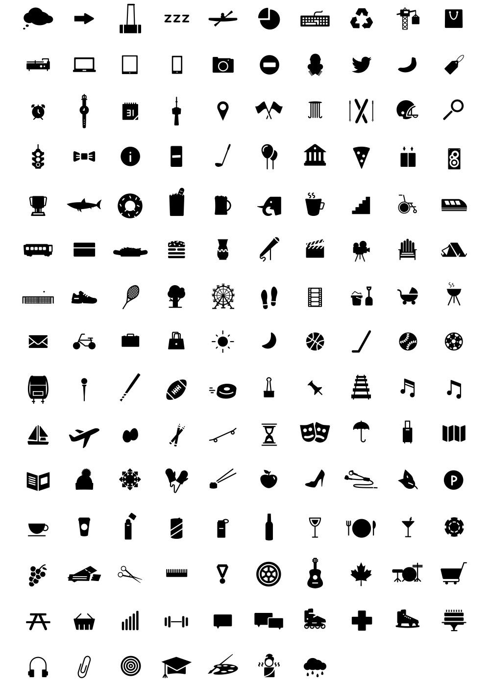 140+ Free Icons - GraphicsFuel