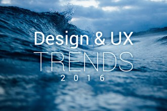 Design and UX Trends to Follow in 2016