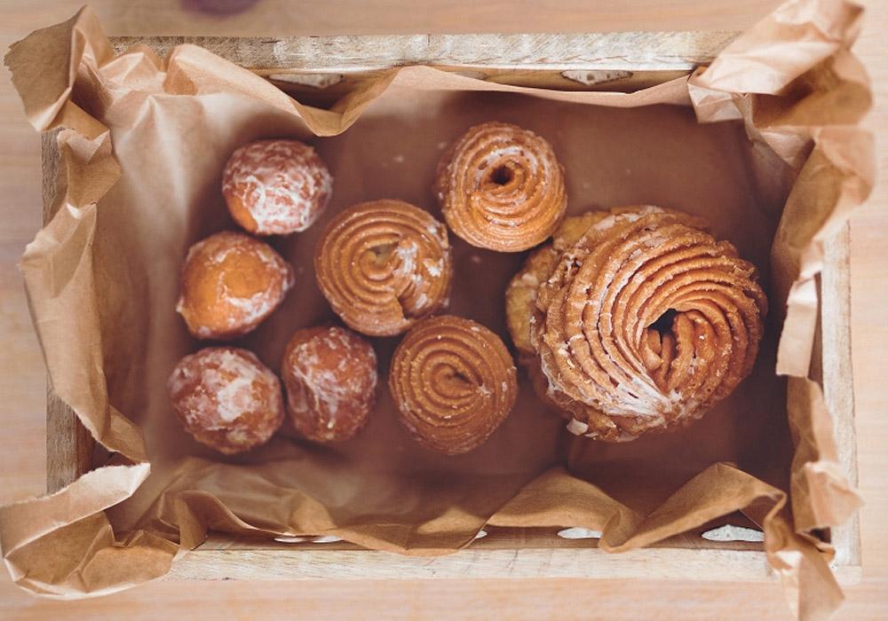 Doughnuts Wooden Box
