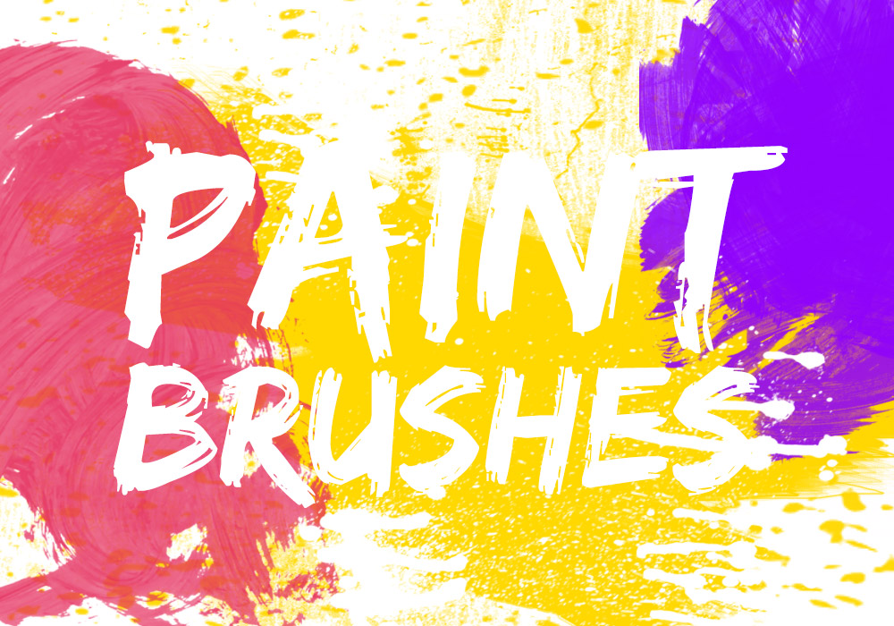 Photoshop Paint Brushes Pack - GraphicsFuel
