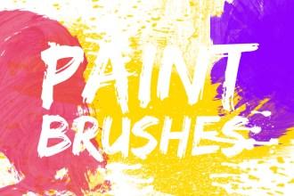 Photoshop Paint Brushes Pack