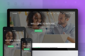 """""""Intense"""" HTML5 Website Template: 6 Reasons to Grab It Without Hesitation"""