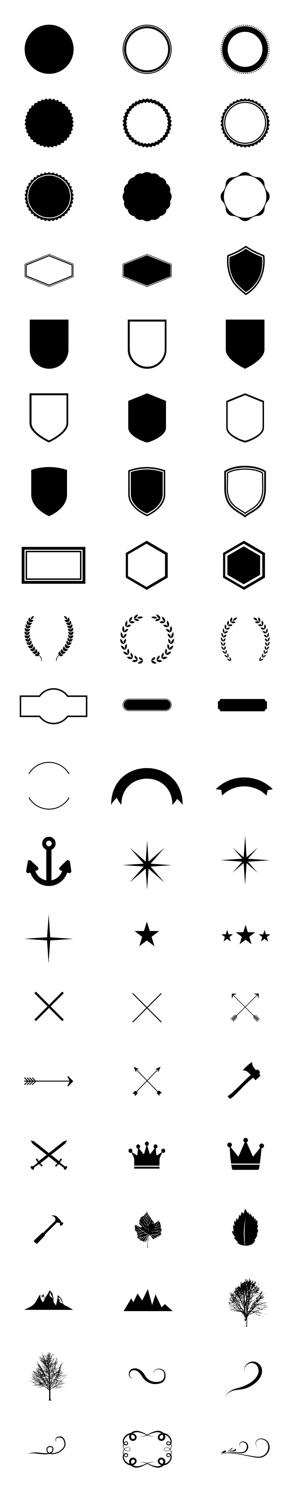 Vector Logo Creation Kit