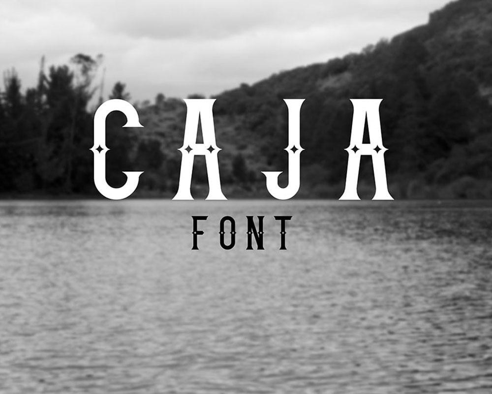 Caja Fonts