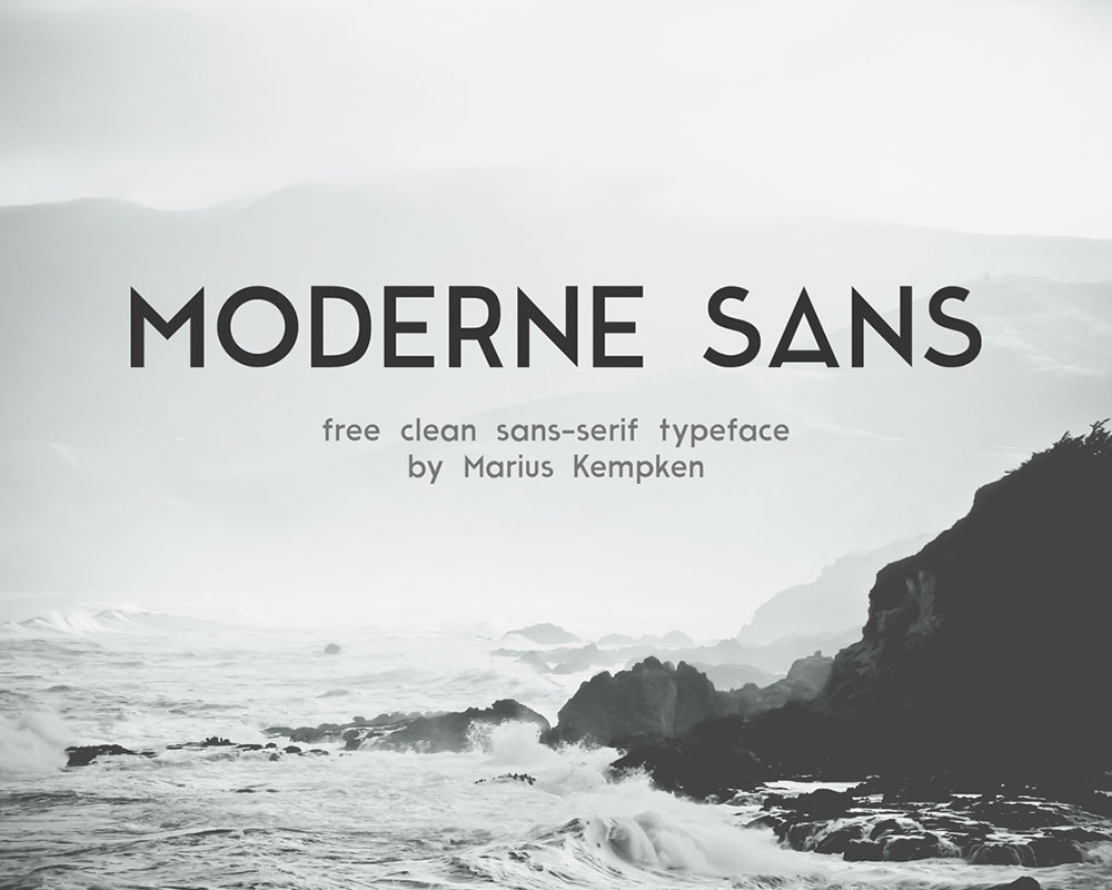 Free Moderne Sans