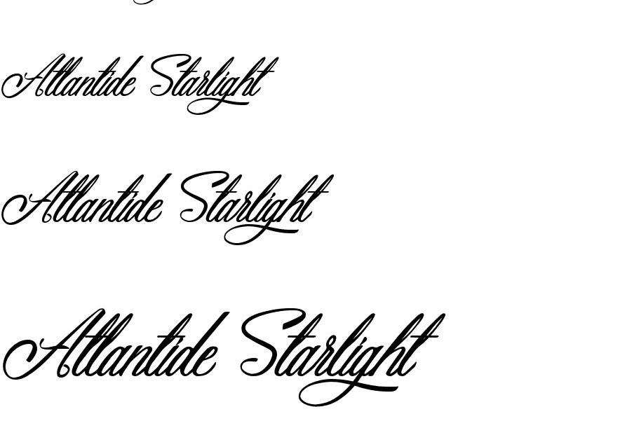 Alantide Starlight Font