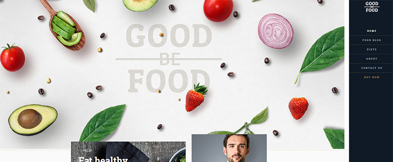 Be GoodFood WP Theme