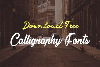 Download These Calligraphy Fonts for Free